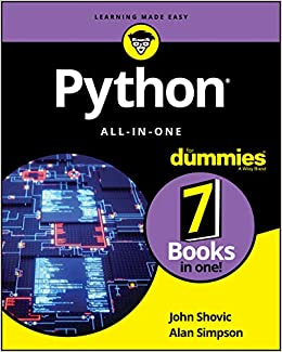 Python All-in-One For Dummies (For Dummies (Computer/Tech)) 9781119557593 Computer Science  @