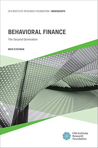 Behavioral Finance The Second Generation  Statman, Meir Kindle Store