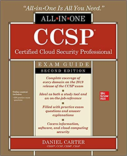 CCSP Certified Cloud Security Professional All-in-One Exam Guide, Second Edition (9781260456929) Carter, Daniel