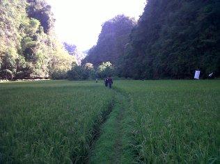 Mirip di lembah Harau Payakumbuh kan?