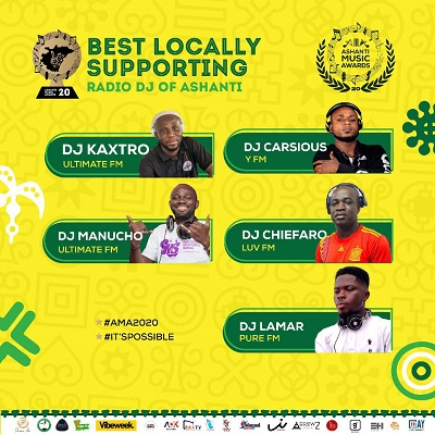 Best Locally Supporting Radio Dj Of The Year