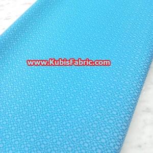 Sky blue designed material
