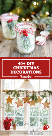 47 Easy DIY Christmas Decorations