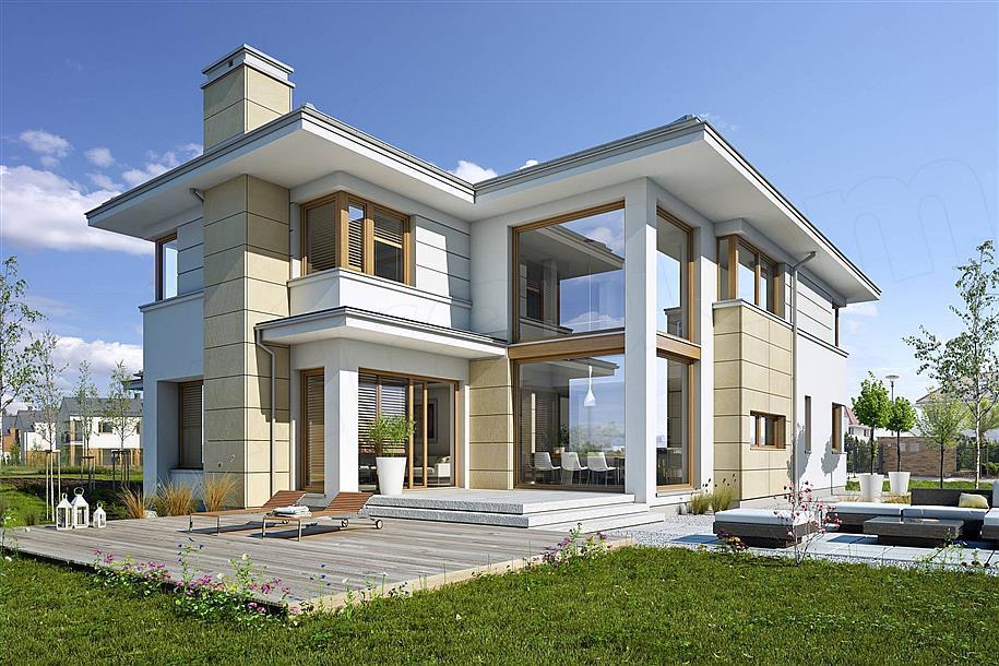 Predobra Moderna Kuća Sa 5 Soba I Krasnom Terasom