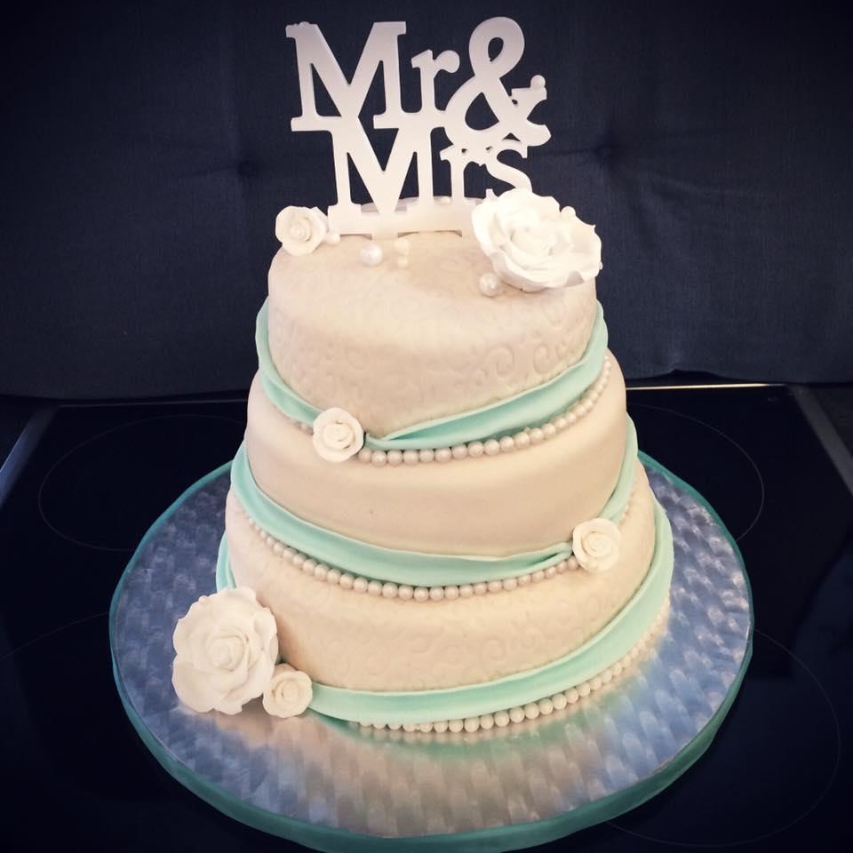 Torte Zur Hochzeit  Kuchen Fee
