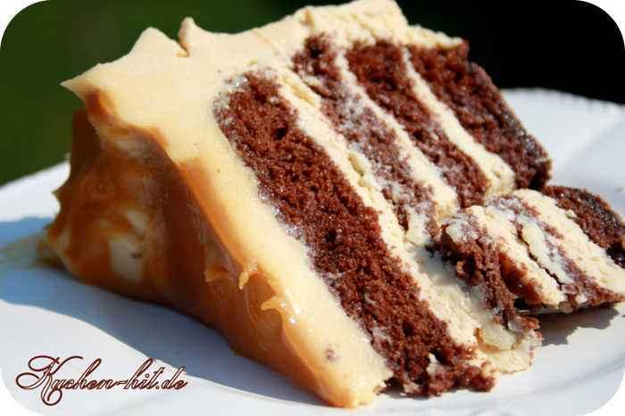 Karamell Torte Rezept