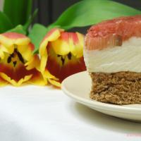 Frühlingsfrisch: Joghurtmousse Törtchen mit Rhabarber