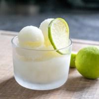 Gin Tonic Sorbet.