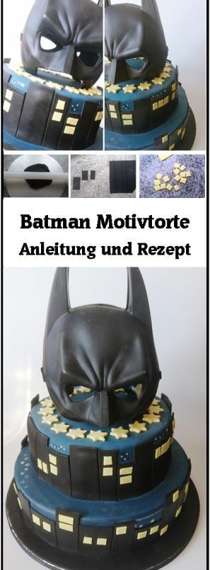 Batman Motivtorte Incl Rezept Und Anleitung Kuchen Kind Und Kegel