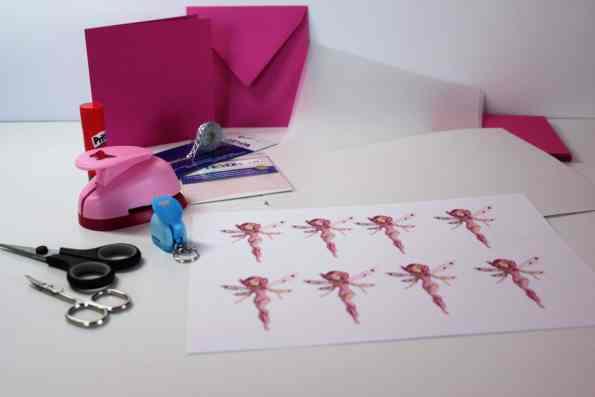 kindergeburtstag - einladungen basteln diy - mia and me mottoparty, Einladung