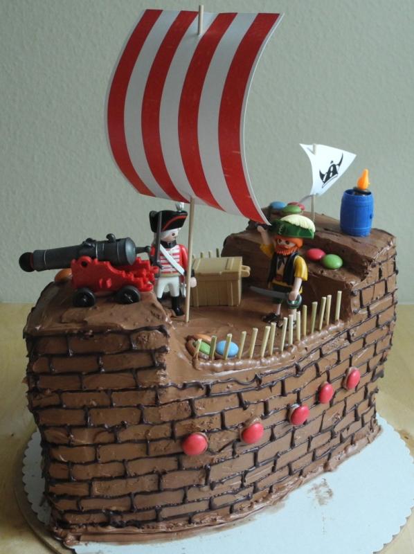 Piraten und WickingerSchiff fr Schuleinfhrung