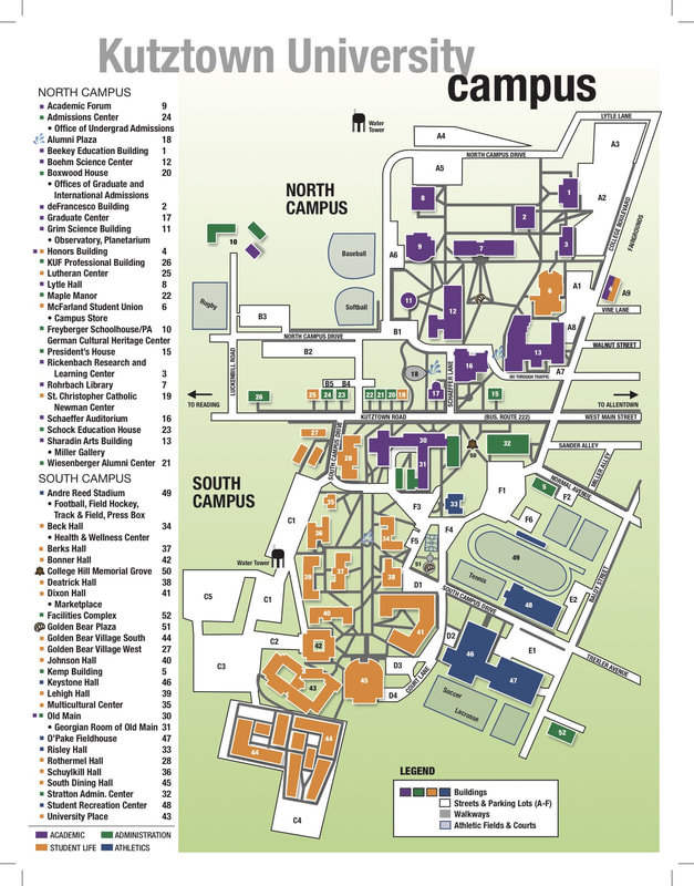 Ku Campus Map : campus, Campus, Kutztown, University, Children's, Literature, Conference