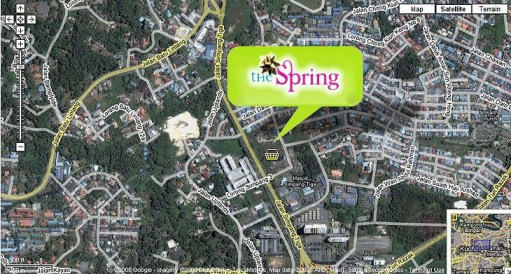 The Spring Mall Location