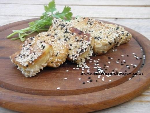 Tofu w sezamie z czarnuszką