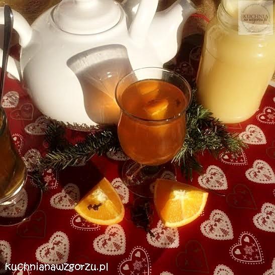zimowa herbata przepis