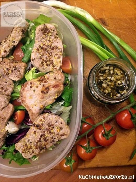 salatka do pracy