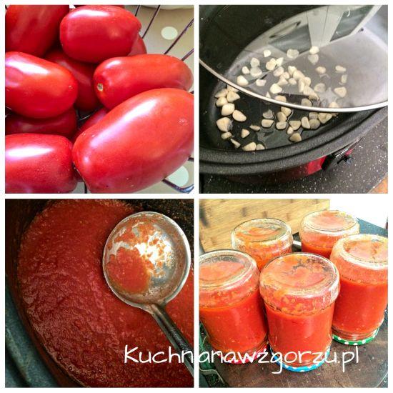 sos pomidorowy wolnowar przepis