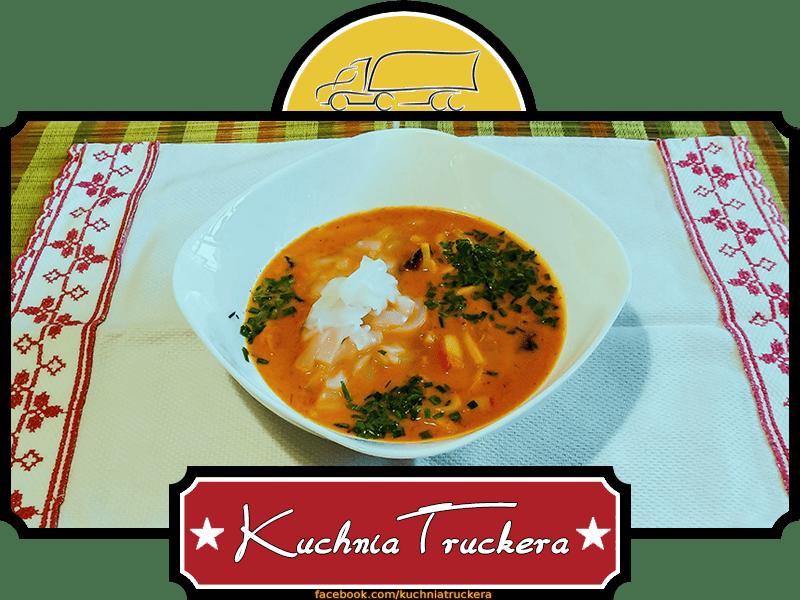 Zupa Rybna Tajska Przepis Autorski Kuchnia Truckera