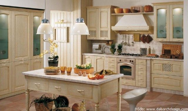 Przytulne i klimatyczne meble kuchenne retro  kuchnieportalpl