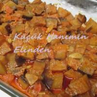 Fırında Patlıcan Tava