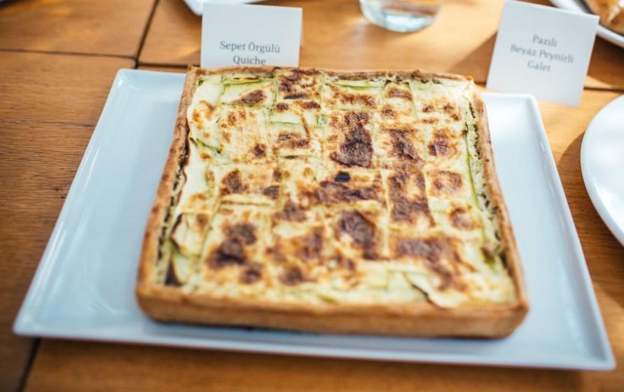 suadiye - beyaz fırın - küçük martha - mekan önerileri - kahvaltı - brunch- sepet örgülü quiche