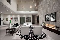Modern Luxury - living room - KuDa Architectural Photography