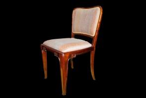 Krzesło art deco od jadalni z wytwórni S.I
