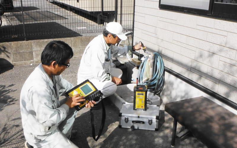 漏水調査修繕   熊本の漏水調査・設備・建築工事なら工藤設備工業株式會社