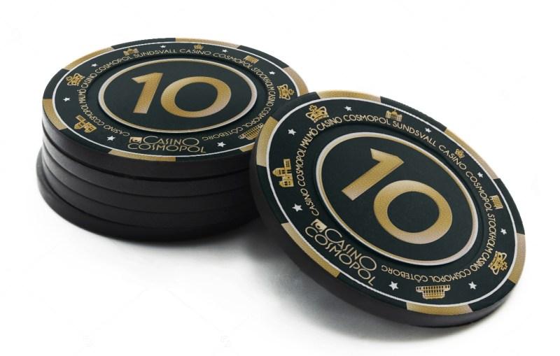 Spelmarker Casino Cosmopol