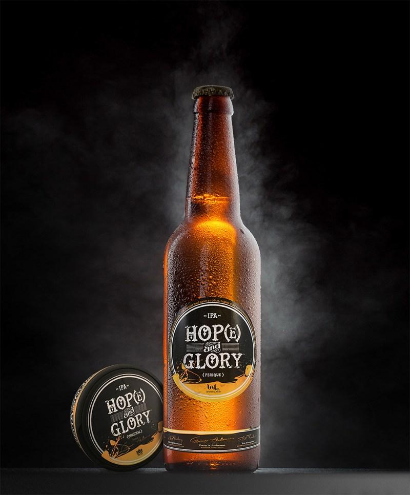 Varumärkesdesign › Hop(e) & Glory™