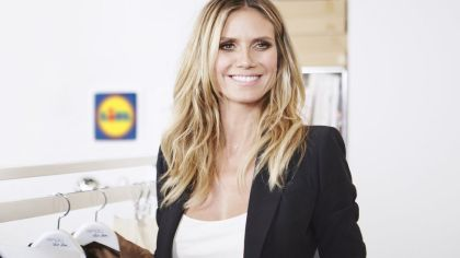 Heidi Klum goes Lidl brand