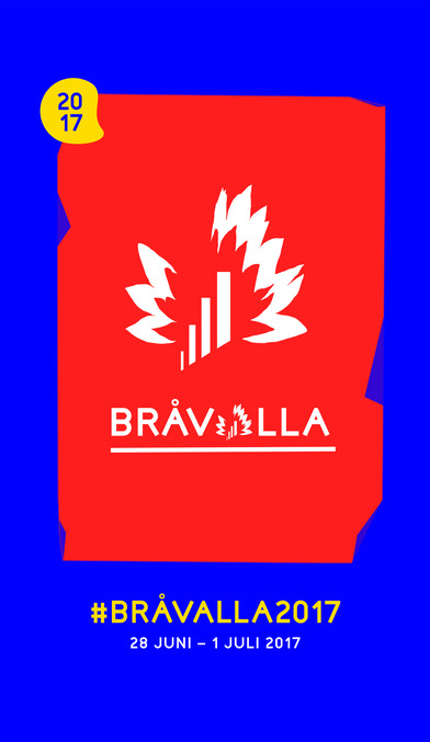 Bråvalla Festival Norrköping - affisch