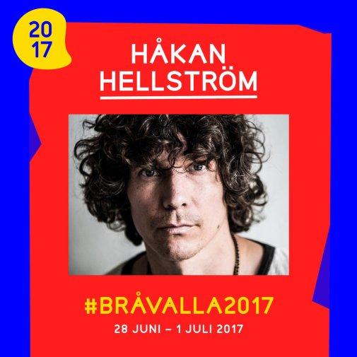 Bråvalla Festival Norrköping Håkan Hellström