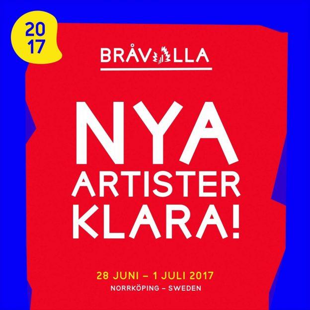 Bråvalla Festival Norrköping affisch