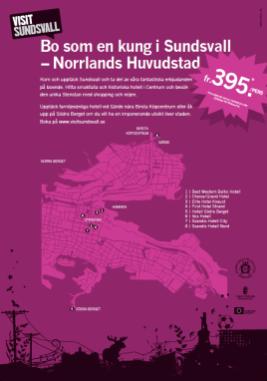 Norrlands huvudstad™ folder