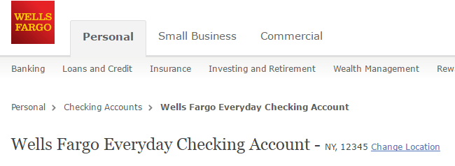 Wells Fargo Checking Account 7 Personal And 4 Business Types