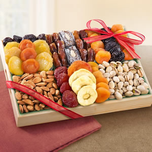 fruit and nut tray