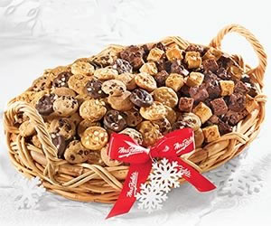 Mrs. Fields Cookies Deluxe Bites Basket