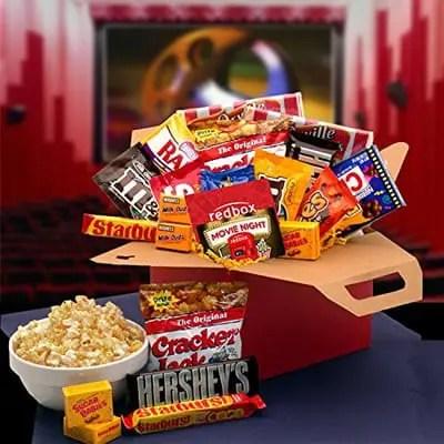 hersheys redbox movie night