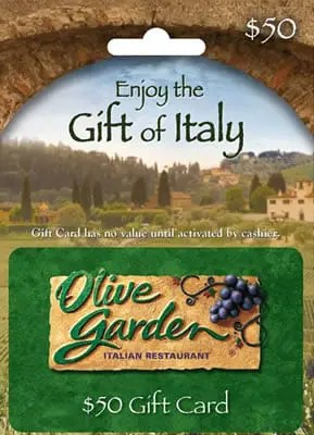 Olive Garden Restaurant Gift Card Sweepstakes Gift Baskets Find Your Perfect Gift With