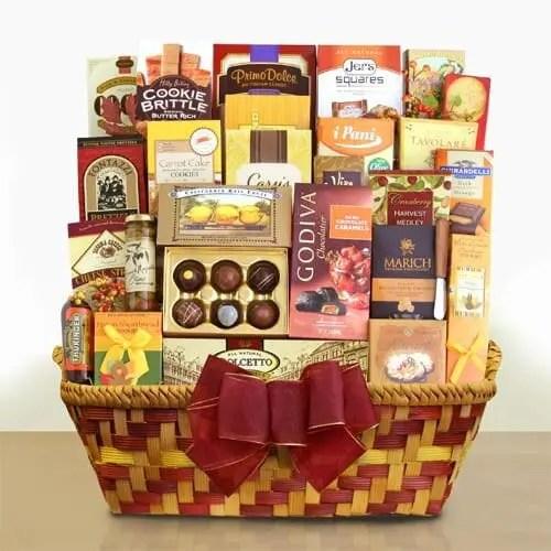 Godiva Grand Autumn Gathering Gourmet Gift Basket Sweepstakes