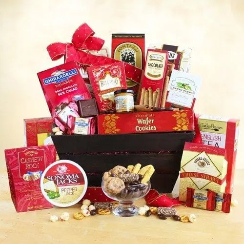 Ghirardelli Holiday Gourmet Connoisseur Gift Basket Sweepstakes