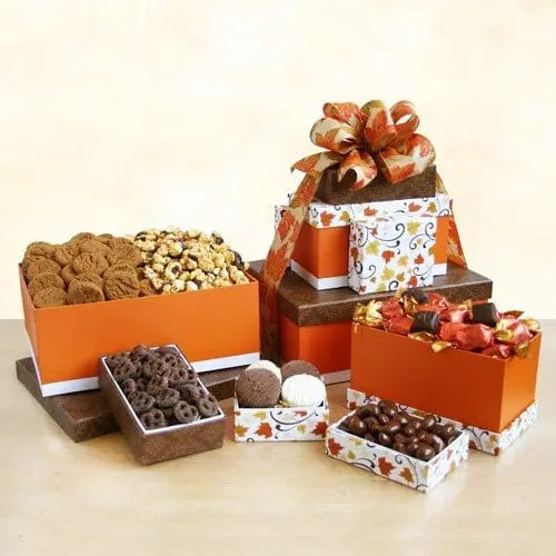 Godiva Autumn Sweets for Thanksgiving Gift Box Tower Sweepstakes