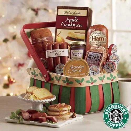 Starbucks Holiday Breakfast Gift Basket Sweepstakes