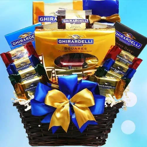 Ghirardelli Chocolate Lovers Gift Basket Sweepstakes