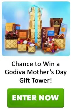 Godiva Mother's Day Gift Tower Sweepstakes
