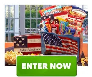 America The Beautiful Patriot Snack Gift Box Sweepstakes