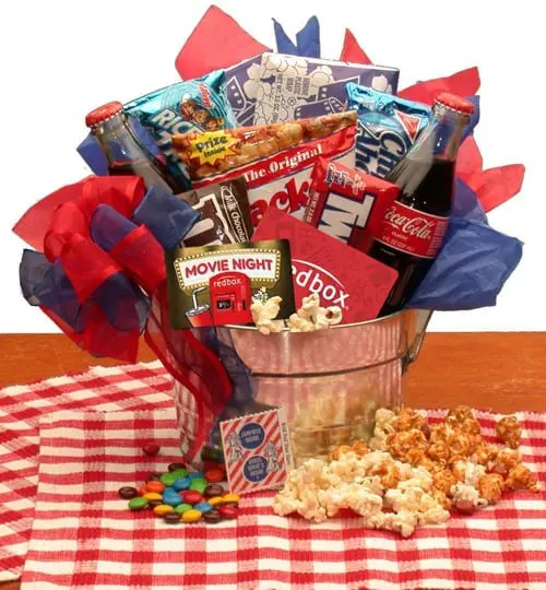 Movie Night Snacks and More Gift Basket Sweepstakes