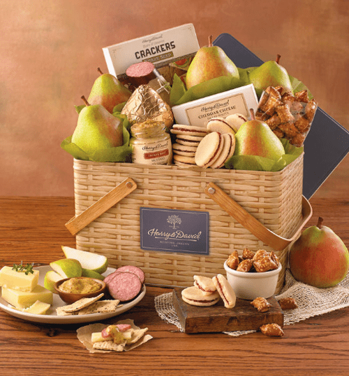 Harry & David Summer Picnic Basket Gift Tin Sweepstakes
