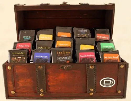 Coffee Beanery Treasure Chest Gift Sweepstakes